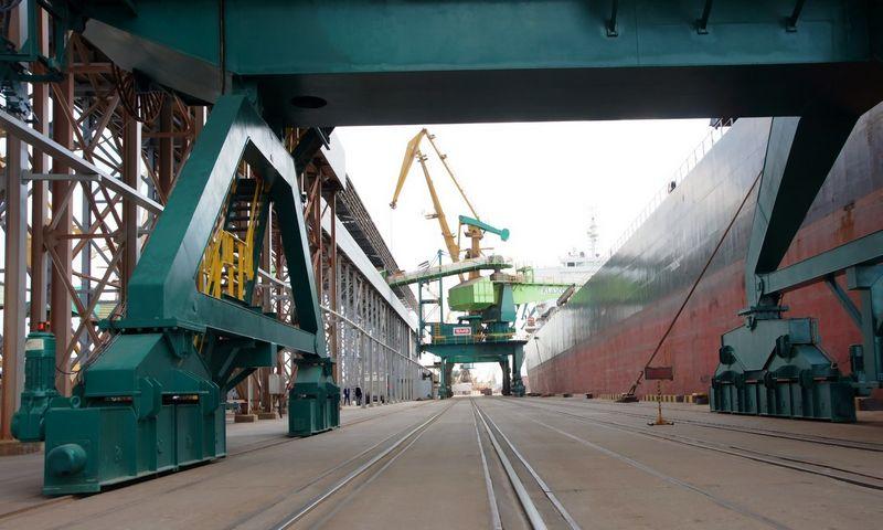 """""""Iran Petrochemical Trade"""" domina Lietuvos žemės ūkio produktai ir transporto galimybės. Algimanto Kalvaičio nuotr."""