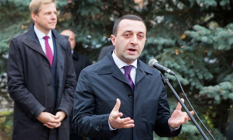 "Iraklis Garibašvilis, Gruzijos premjeras. ""15min.lt"" / ""Scanpix"" nuotr."