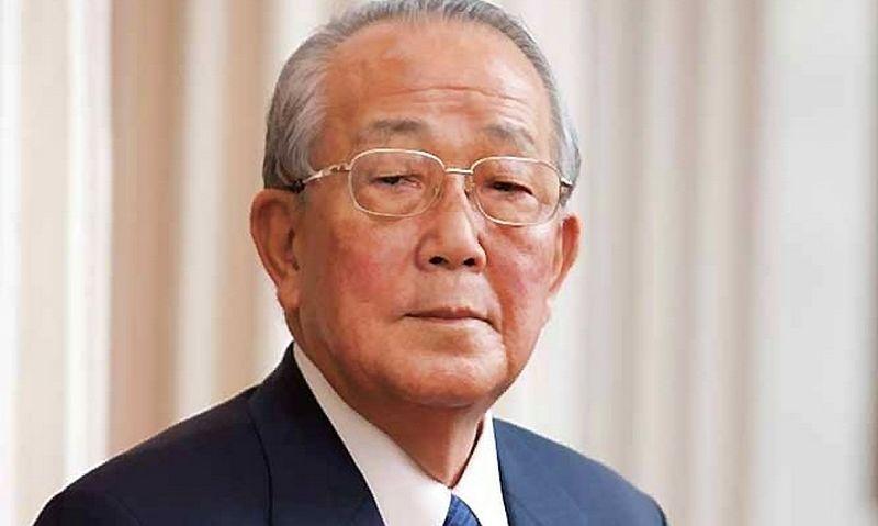 """Kazuo Inamori, """"Kyocera Corporation"""" ir """"KDDI Corporation"""" įkūrėjas. """"Wikimedia commons"""" nuotr."""