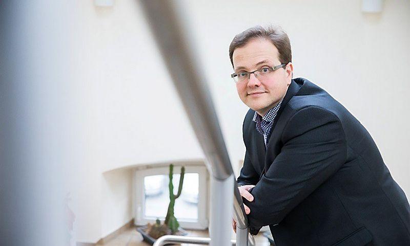 """Edgaras Leichteris, asociacijos """"Žinių ekonomikos forumas"""" direktorius. Juditos Grigelytės nuotr."""