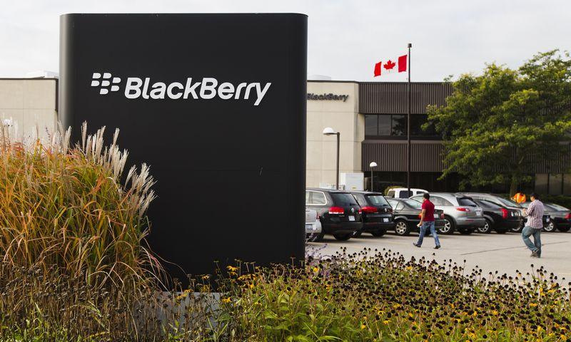 """Blackberry"" biuras Kanadoje. Marko Blincho, (""Scanpix""/""Reuters"") nuotr."