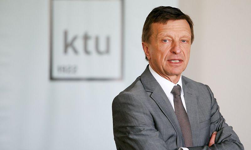 """Prof. Petras Baršauskas, KTU rektorius.""""15min.lt"""" / """"Scanpix"""" nuotr."""