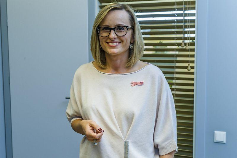 """Lina Paukštė, """"Technopolis Ozas"""" vadovė, sugrįžusi į darbą po metų pertraukos pirmiausia ėmėsi savo darbo specifikos pokyčių. VLADIMIRO IVANOVO (VŽ) nuotr."""
