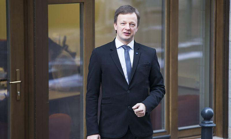 Benas Adomavičius, ISM universiteto Strateginio valdymo modulio vadovas. Vladimiro Ivanovo (VŽ) nuotr.