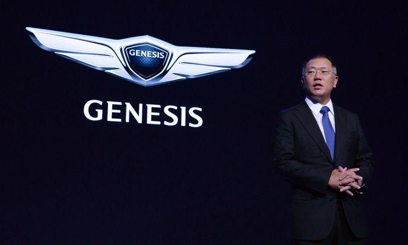 """Iki 2020 m. bus pristatyti šeši nauji """"Genesis"""" vardo modeliai. Gamintojo nuotr."""