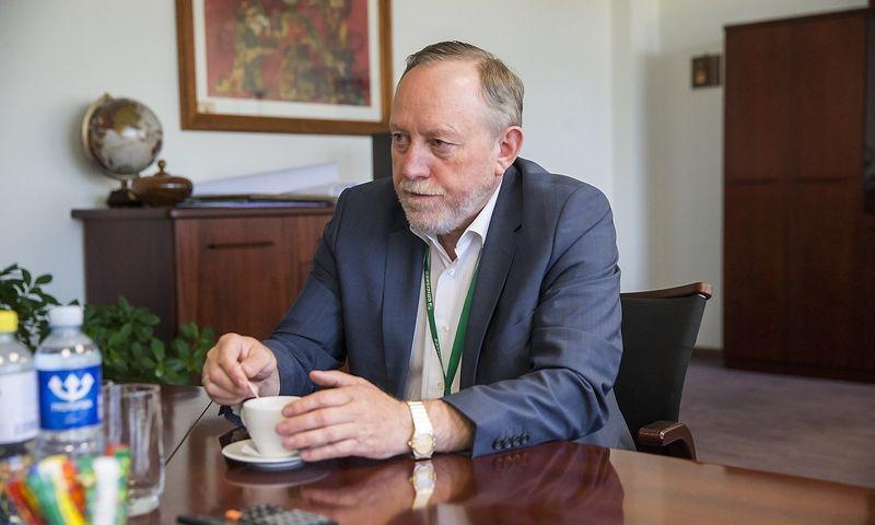 """Gintautas Pangonis, popieriaus ir jo produktų gamybos AB """"Grigeo Grigiškės"""" prezidentas. Vladimiro Ivanovo (VŽ) nuotr."""
