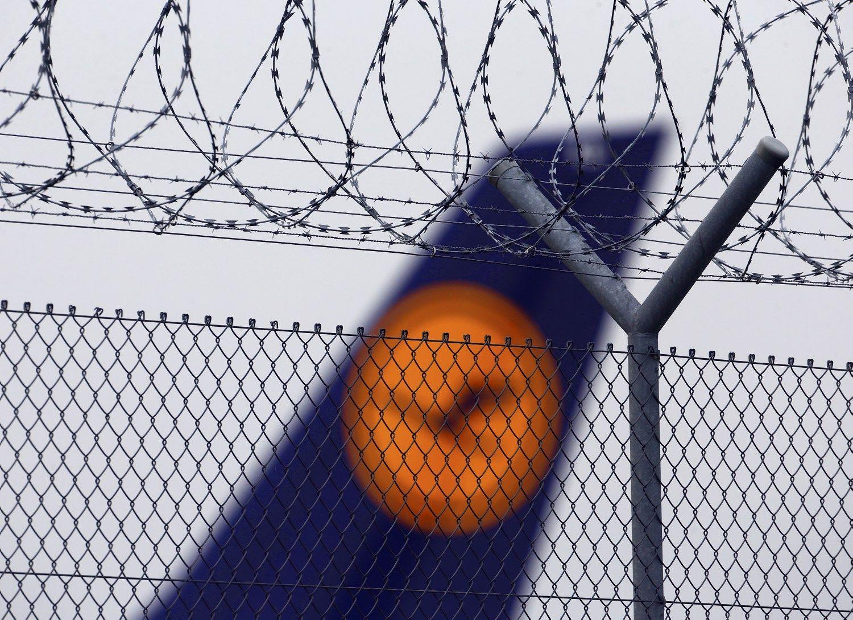 �Lufthansos� �gula skelbia apie 3 dien� visuotin� streik�