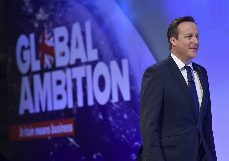 "Davidas Cameronas, Jungtinės Karalystės premjeras, pažymi, kad jo siūloma reforma sustiprins visą ES. ""Reuters"" / ""Scanpix"" nuotr."