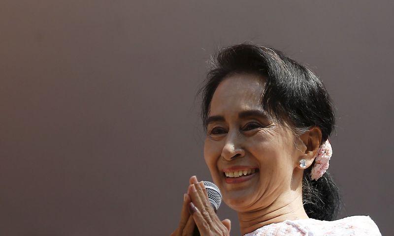 "Aung San Suu Kyi. Jorge Silva (""Reuters"" / ""Scanpix"") nuotr."