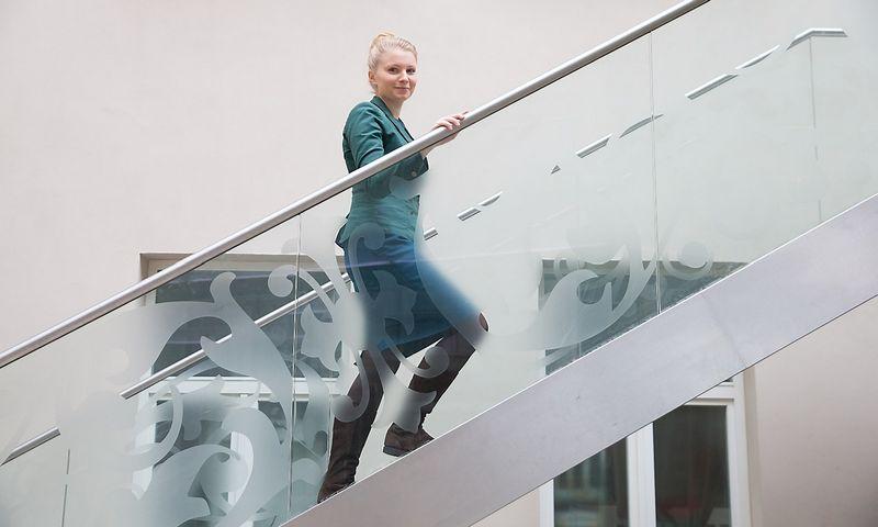 "Kotryna Stankutė-Jaščemskienė, VšĮ ""Globalios Lietuvos lyderiai"" vykdomoji direktorė. Juditos Grigelytės (VŽ) nuotr."