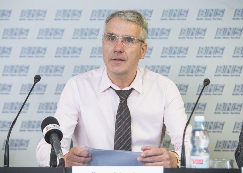 Danas Arlauskas, Lietuvos darbdavių asociacijos generalinis direktorius. JUDITOS GRIGELYTĖS (VŽ) NUOT.