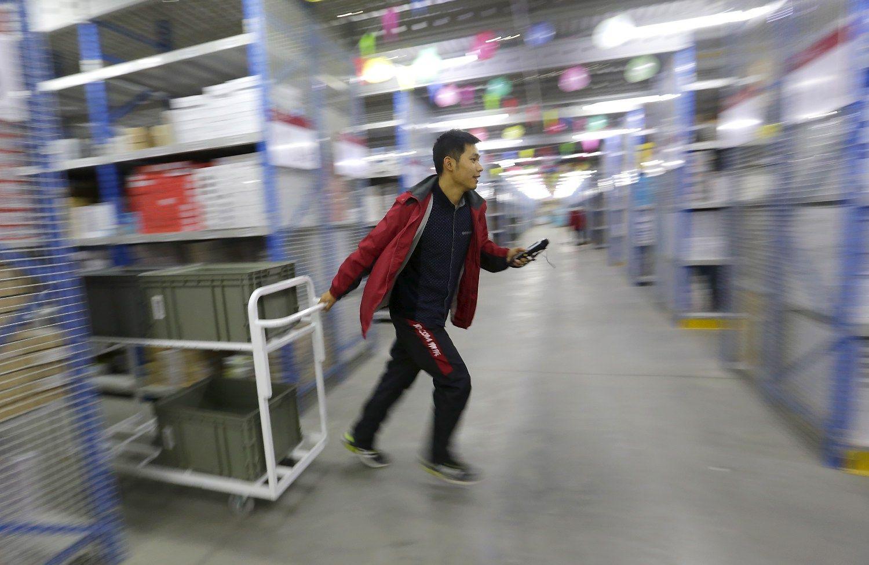 Masinis i�pardavimas: �Alibaba� rekord� sumu�� jau per pusdien�