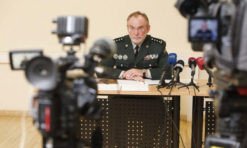 Valentinas Novikovas, VSAT vado pavaduotojas, šiuo metu laikinai tarnybos vadą pavaduojantis pulkininkas. Vladimiro Ivanovo (VŽ) nuotr.