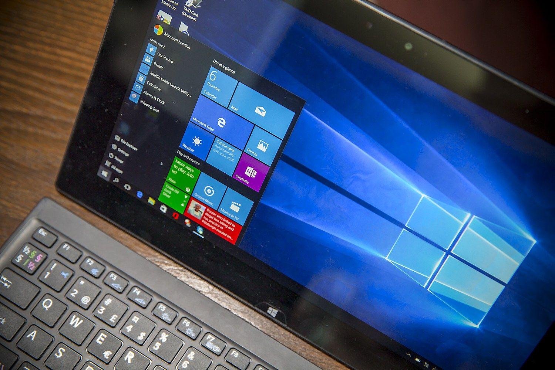 Atnaujinti �Windows 10� leis i�jungti duomen� rinkim�