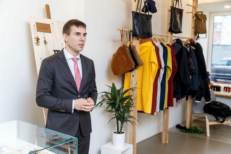 Šarūnas Nedzinskas, DNB banko valdybos narys ir prezidento pavaduotojas.  Vladimiro Ivanovo (VŽ) nuotr.
