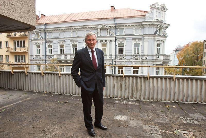 """Robertas Miliauskas, """"Lietkoopsąjungos"""""""" valdybos pirmininkas: """"Šiemet augimas, lyginant su pernai, menkas arba jo nėra. Herkaus Milaševičiaus nuotr."""