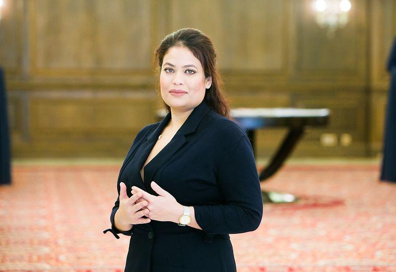 """Dr. Ashna Rahman, Didžiosios Britanijos įmonės """"ICIS Energy – RBI"""" direktorė verslui. Juditos Grigelytės (VŽ) nuotr."""