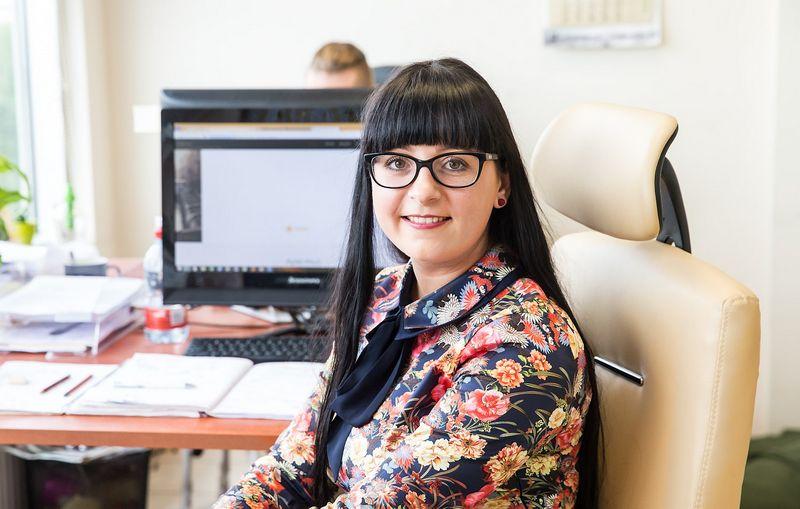 """Jurgita Acutė, UAB """"AmberVest"""" pardavimų vadybininkė. Juditos Grigelytės (VŽ) nuotr."""