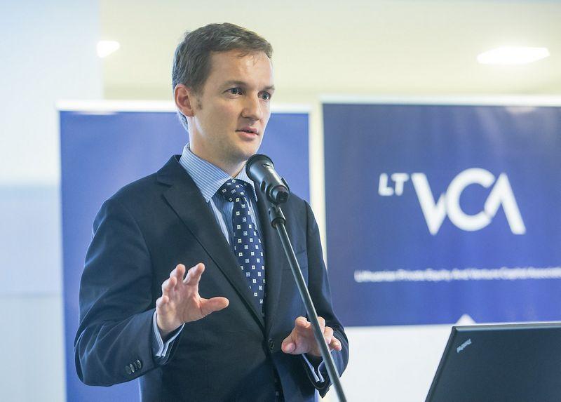 """Kornelijus Čelutka,  rizikos kapitalo fondų valdymo UAB """"BaltCap"""" investicijų direktorius. Juditos Grigelytės (VŽ ) nuotr."""