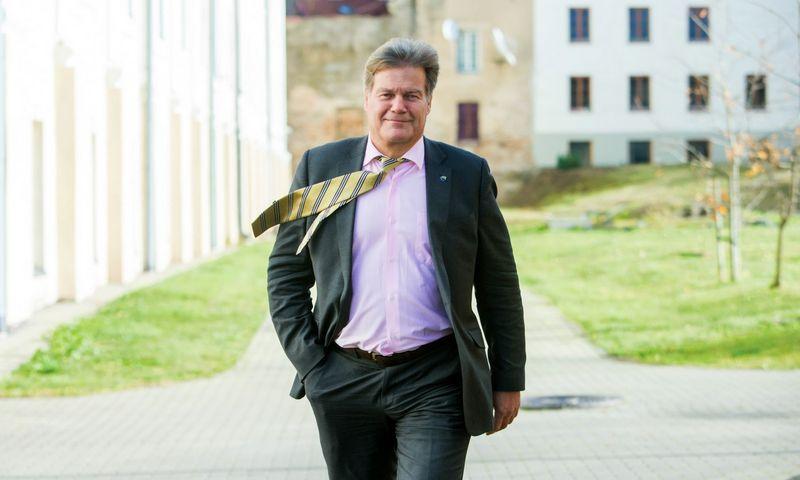 """Jorgen Waaler, prekybos technologijų sprendimų bendrovės """"StrongPoint"""" generalinis direktorius. Juditos Grigelytės (VŽ ) nuotr."""
