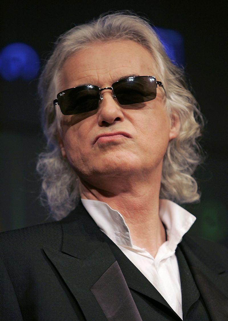 """Led Zeppelin"" gitaristas Jimmy Page'as. Michaelo Caronna (""Scanpix"") nuotr."