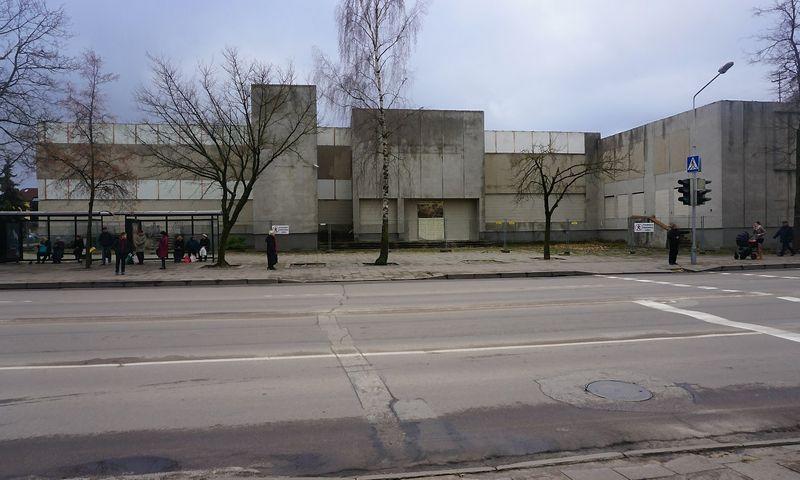 Buvusi Alytaus autobusų stotis Jotvingių gatvėje. Savivaldybės nuotr.