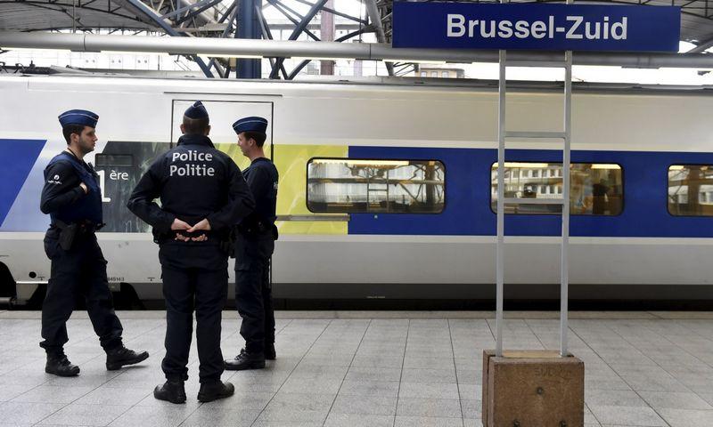 """Pastarųjų teroro išpuolių Europoje pėdsakai veda į Belgiją. Erico Vidalio (""""Reuters"""" / """"Scanpix"""") nuotr."""