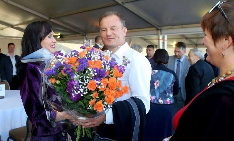 """Jolanta Blažytė, koncerno """"Vikonda akcininkė ir Gintautas Muznikas, Kauno AVMI viršininko pavaduotojas."""