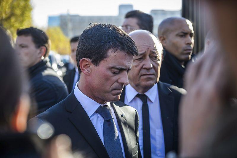 """Manuelis Vallsas, Prancūzijos premjeras. (""""Reuters"""" / """"Scanpix"""") nuotr."""