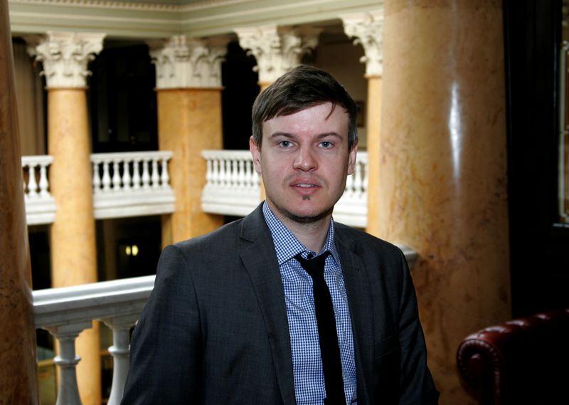 Tomas Kipišas, Šiaulių banko Finansų maklerio departamento direktoriaus pavaduotojas. Algimanto Barzdžiaus (VŽ) nuotr.