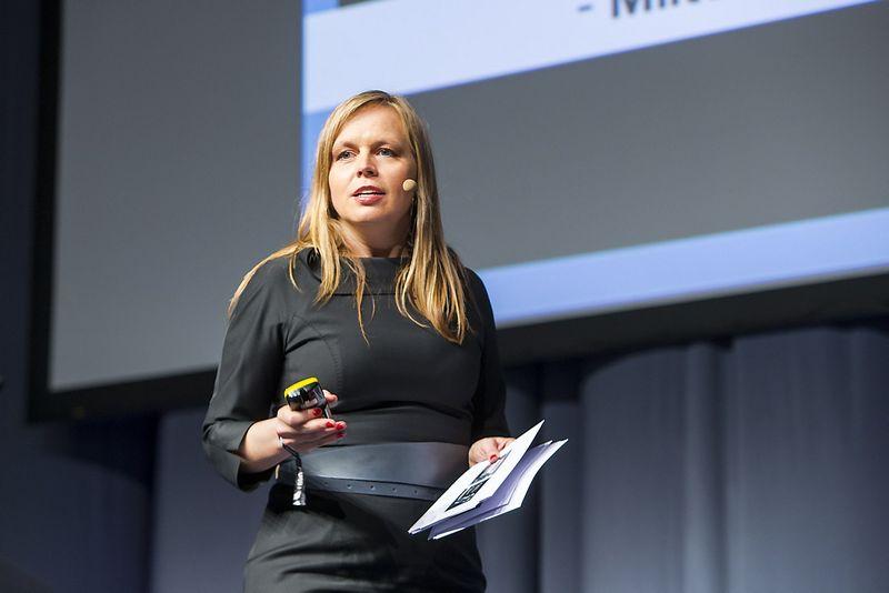 """Milda Dargužaitė, buvusi Barclays"""" Technologijų Centro Lietuvoje generalinė direktorė.  Vladimiro Ivanovo (VŽ) nuotr."""