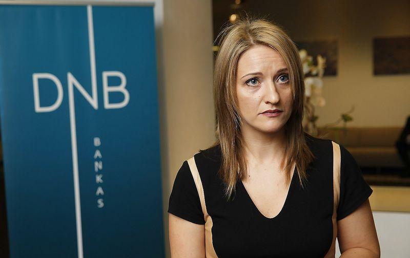 Jekaterina Rojaka, DNB banko vyriausioji ekonomistė Baltijos šalims. Vladimiro Ivanovo (VŽ) nuotr.