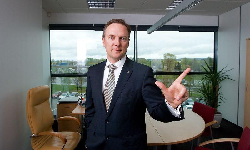 """Rytis Ambrazevičius, """"Baltic Institute of Corporate Governance"""" viceprezidentas: """"Jei nežinau, kas ir kaip valdo bendrovę, kodėl turėčiau ten dirbti?"""" Juditos Grigelytės (VŽ) nuotr."""