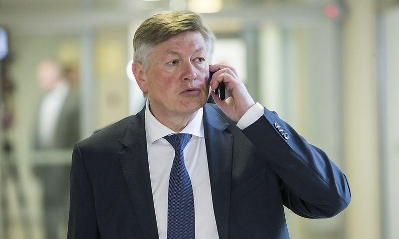 Artūras Paulauskas, Seimo Nacionalinio saugumo ir gynybos komiteto pirmininkas, Darbo partijos narys. Vladimiro Ivanovo (VŽ) nuotr.