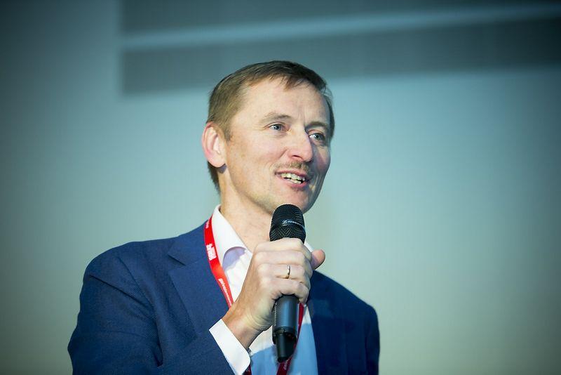 """Saulius Šukaitis, žiniasklaidos planavimo agentūros """"Vizeum"""" generalinis direktorius. Vladimiro Ivanovo (VŽ) nuotr."""
