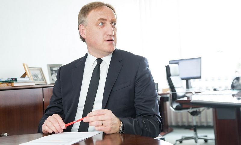 """Dr. Kęstutis Bagdonavičius, """"Ergo"""" draudimo grupės Baltijos šalyse valdybos pirmininkas. Juditos Grigelytės (VŽ) nuotr."""