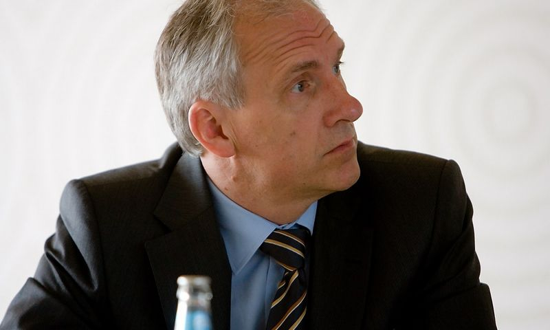 """Arūnas Keserauskas, buvęs """"Vilniaus šilumos tinklų"""" direktorius.  Vladimiro Ivanovo (VŽ) nuotr."""