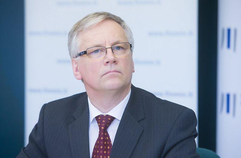 Rimantas Šadžius, Lietuvos Respublikos finansų ministras. Juditos Grigelytės (VŽ) nuotr.