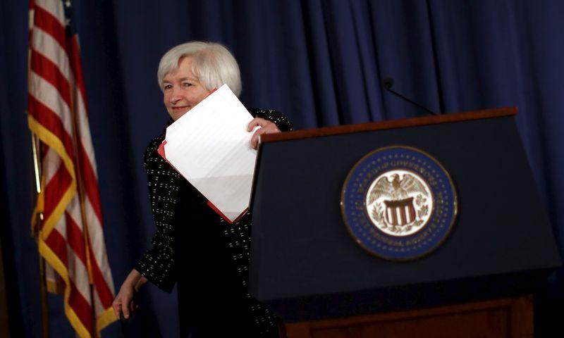 "Janet Yellen, FED vadovė. Carloso Barria (""Reuters"") nuotr."