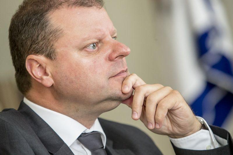 Saulius Skvernelis, vidaus reikalų ministras. Vladimiro Ivanovo (VŽ) nuotr.