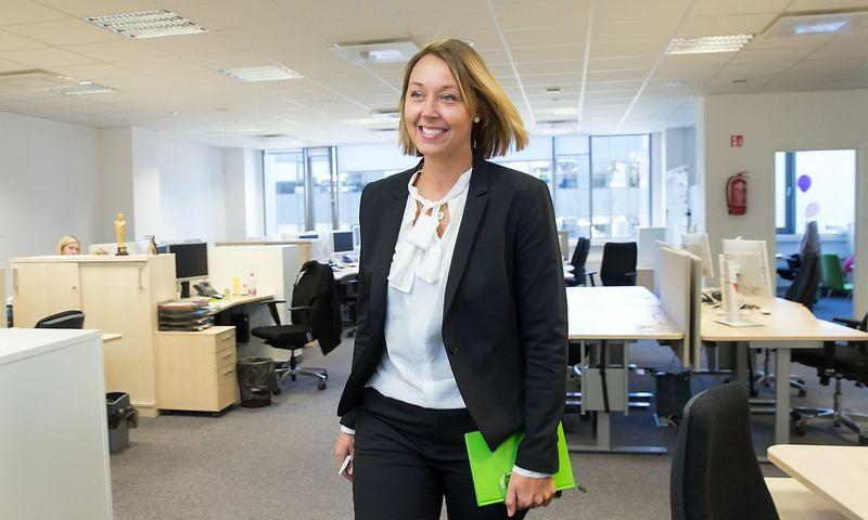 Anna Maria Nyström, SEB grupės paslaugų teikimo centrų Vilniuje ir Rygoje vadovė. Juditos Grigelytės (VŽ) nuotr.