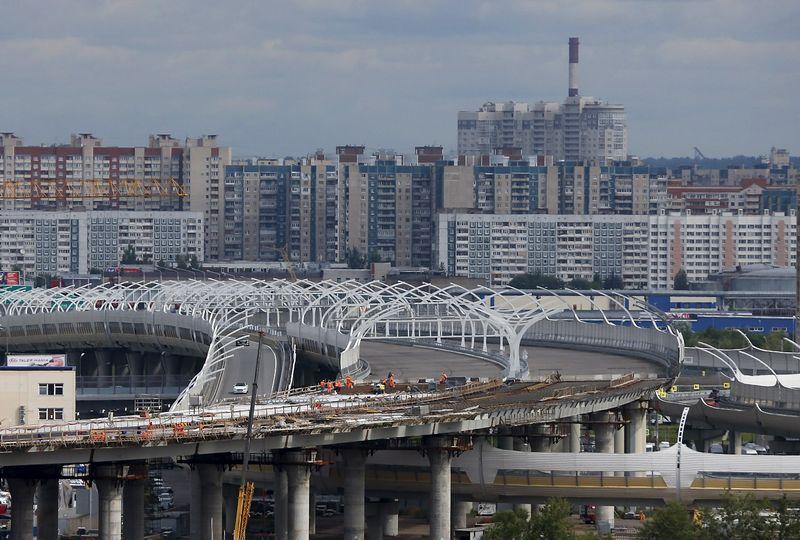 """Sankt Peterburgas. Maximo Shemetovo (""""Reuters"""" / """"Scanpix"""") nuotr."""