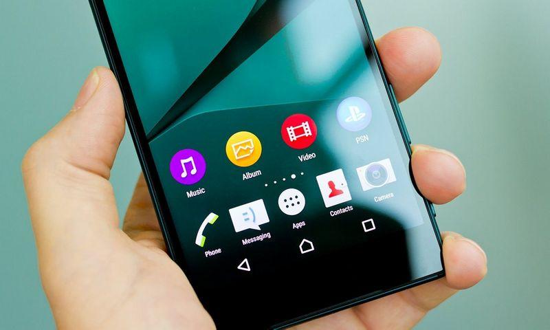 """""""Xperia Z5"""" – nuobodžiai geras telefonas. Gamintojo nuotr."""