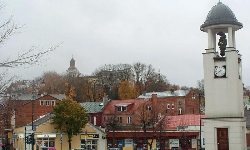 Telšių miesto centras. Algimanto Kalvaičio nuotr.