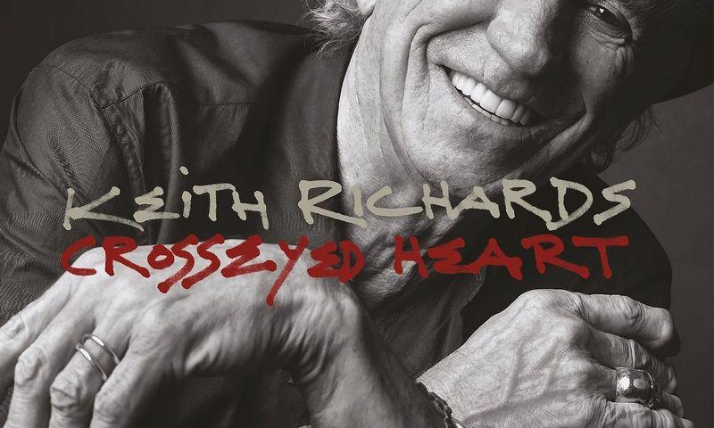 Tai – laikui ir madai nepavaldus Keithas Richardsas. Albumo viršelis