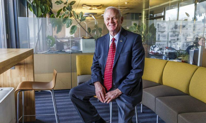 Ray Smith, organizacinės lyderystės mokslų daktaras, JAV Belhaven universiteto dėstytojas. Vladimiro Ivanovo (VŽ) nuotr.