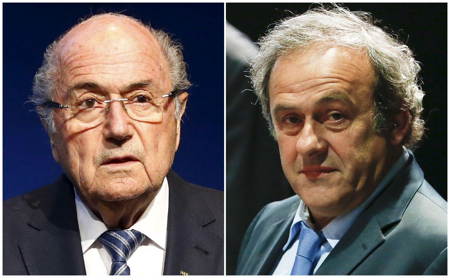 Blatteriui ir Platini gresia ilgas nu�alinimas nuo futbolo reikal�