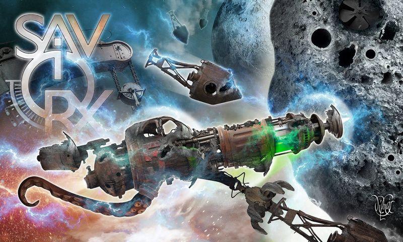 """Kadras iš VŽ dizainerio piešto """"SaviorX"""" žaidimo, skirto mobiliems įrenginiams. Autorių nuotr."""