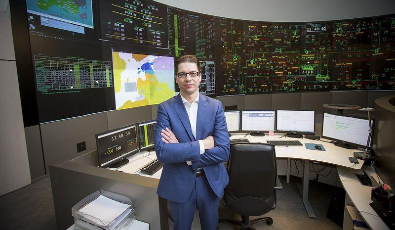 """Daivis Virbickas, elektros perdavimo sistemos operatoriaus AB """"Litgrid"""" valdybos pirmininkas, generalinis direktorius. Vladimiro Ivanovo (VŽ) nuotr."""