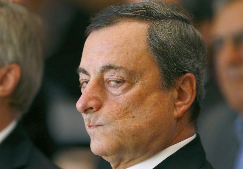 """Mario Draghi, ECB prezidentas. Ralpho Orlowski (""""Reuters"""") nuotr."""